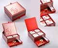 Variety Mooncake Boxes, Paper Gift Packaging Boxes for Mooncakes 5