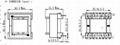 ETD34 15+15 ferrite core power transformer