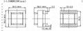 RANLO ETD34 7+7定做 高頻開關電源變壓器 4