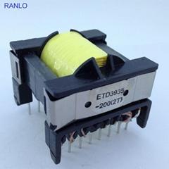 ETD39 8+8 high frequency power transformer