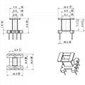 EE10 4+4 立式高頻變壓