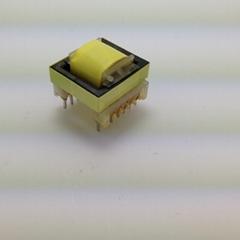 RANLO EE16 臥式 7+7 白色高頻變壓器