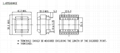 RANLO EE40 EI40 臥式 7+7 高頻開關電源變壓器 5