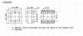 RANLO EE40 350W DC DC 12V 轉220V高頻變壓器 2