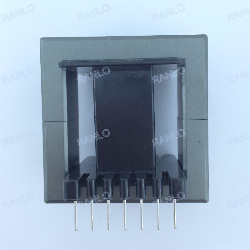 RANLO EE55 高频开关电源变压器打样定制 立式 7+7  5