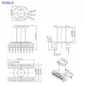 RANLO EC2834 9+9 vertical switch power supply transformer