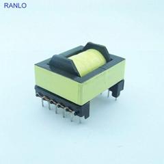 RANLO EC2834 臥式 6+6  高頻開關電源變壓器 脈衝變壓器