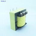 RANLO EE55 高频开关电源变压器打样定制 立式 7+7  3