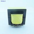 RANLO EE55 高频开关电源变压器打样定制 立式 7+7  4