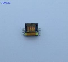 EPC13 4槽 5+5 貼片 脈衝變壓器開關電源變壓器高頻變壓器