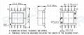 EFD20  5+5 脈衝變壓器開關電源變壓器高頻變壓器