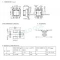 EF12.6 SMD power transformer HF transformer pulse transformer