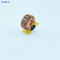 RANLO  T106-125 157.5uH 8A power choke inductor filter