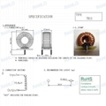 RANLO power choke power inductor 16uH T106-2 1.4mm