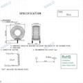 22uH T106-2 power choke 1.4mm copper wire 3