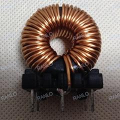 192uh 8A 功率电感 磁环电感线圈