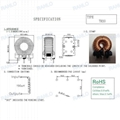 RANLO 192uH 8A power choke power inductor