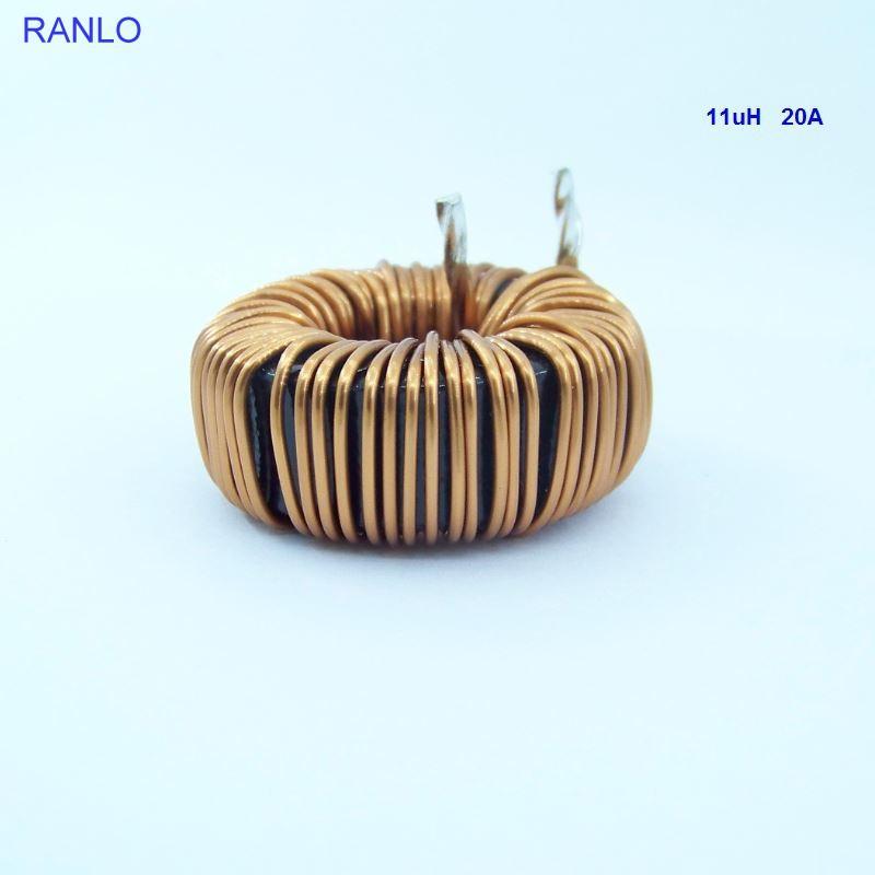 RANLO common mode choke  110uH 20A T157-125