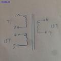 3 phase Toroidal converter transformer driver transformer 15:15:7