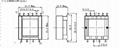 EPC19 6+6 6槽貼片 脈衝變壓器開關電源變壓器高頻變壓器 2