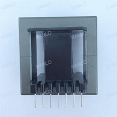 EE55 1500W vertical transformer bobbin PC40 ferrite core