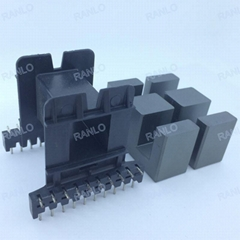 EE55 EE55B 10+10pin horizontal transformer bobbin ferrite core