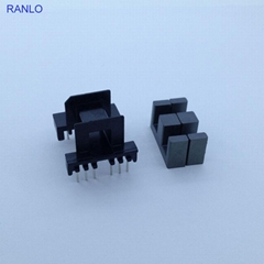 EF16 6+8pin horizontal transformer bobbin ferrite core