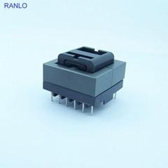 ETD34 卧式 6+6 双槽骨架 PC40 磁芯 LLCR变压器