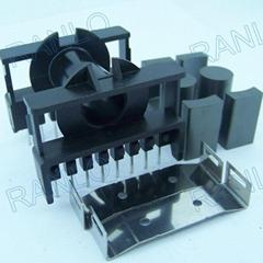 ETD39 transformer bobbin horizontal 8+8pin PC40 ferrite core