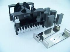 ETD49 卧 10+10 变压器骨架PC40磁芯