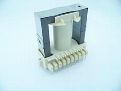 ETD49 transformer bobbin vertical 10+10pin PC40 ferrite core