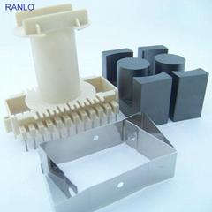 ETD59 立式 12+12 变压器骨架PC40磁芯