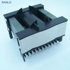 ETD59 卧式 12+12 变压器骨架PC40磁芯