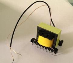 EE28  voltage converter transformer pulse transformer vertical 9+9
