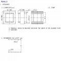 EE4215  8+8 9+9 電源變壓器脈衝變壓器高頻變壓器