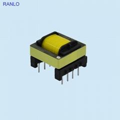 EF25 卧式 4+4 开关电源高频变压器