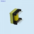 EF25  horizontal 5+5 high frequency transformer