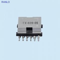 EFD15 6+6 贴片开关电源变压器带铁盖 变压器厂家