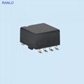 SMD toroidal  transformers 4+4pin