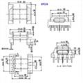 EPC25 5+6 脈衝變壓器開關電源變壓器高頻變壓器 5
