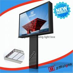 ZM-M006 Billboard Mega Light Box Led Display Billboard Manufacturer