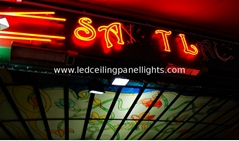 Red Outdoor RGB  LED Strip Light for Petrol Station Pooling IP68 5050SMD