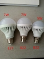 3W Dimmable E27 LED Bulbs Energy Saving