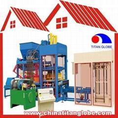 QTJ10-15 Brick Making Machine