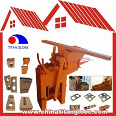 Manual Interlocking Brick Machine