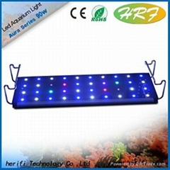 2015 hot sales aquarium led lighting for coral reef mimic sunset lunar cycle 55*