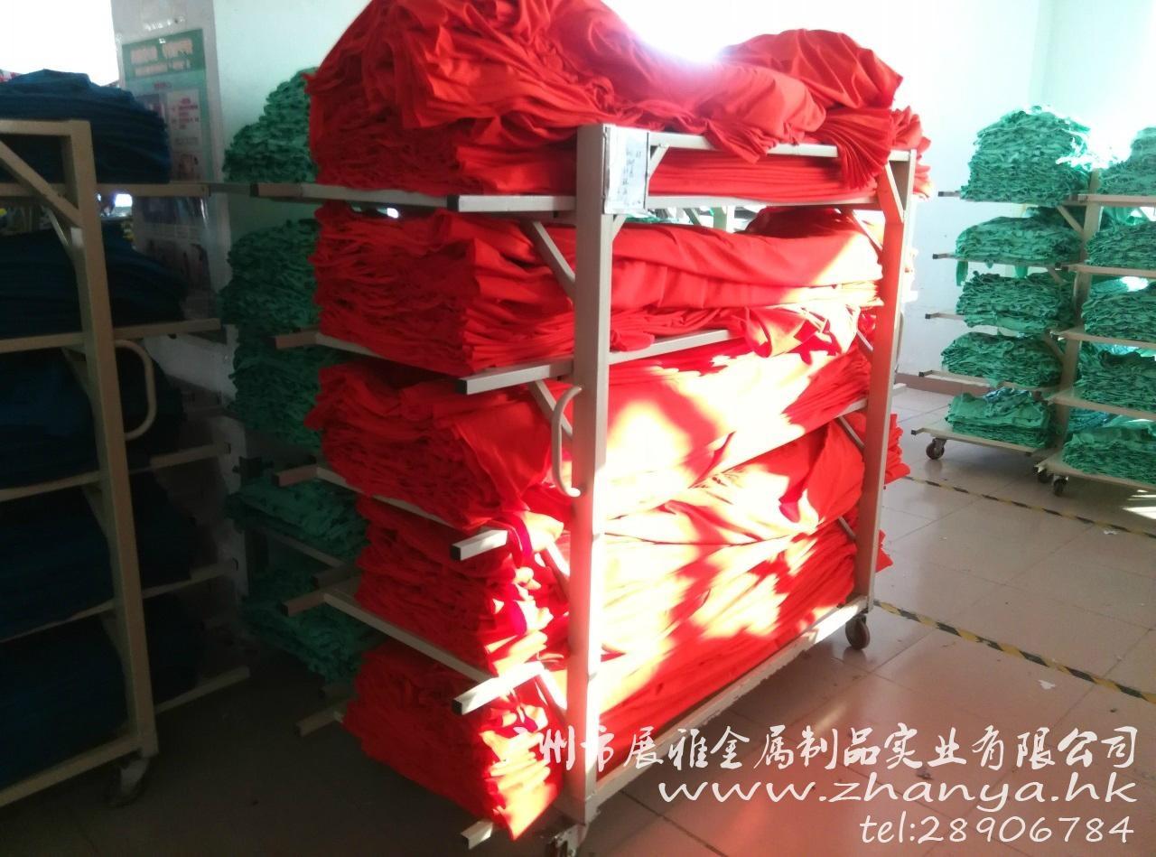 四轮单边5层针织专用松布架 3