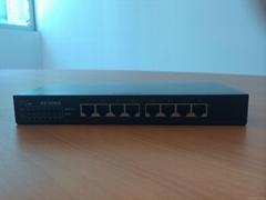 AZ1008G 8-Ports 10/100/1000M  managed Gigabytes Ethernet Switch (layer 2)