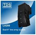 Dual 8inch Concert Speaker LA208 For Sound System Professional Line Array 1