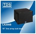 Dual 8inch Concert Speaker LA208 For Sound System Professional Line Array 2